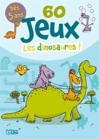 60 jeux : les dinosaures !