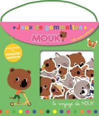 Le voyage de Mouk : jeux de gommettes : 100 autocollants
