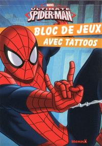 Marvel ultimate Spider-Man : bloc de jeux avec tattoos