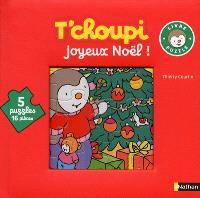 T'choupi : joyeux Noël ! : livre-puzzle