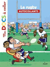 Le rugby : autocollants