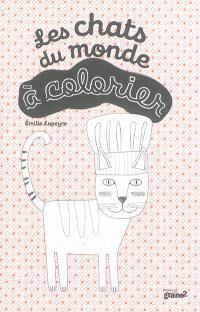 Les chats du monde à colorier