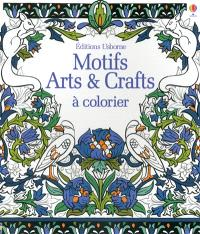 Motifs : arts & crafts à colorier