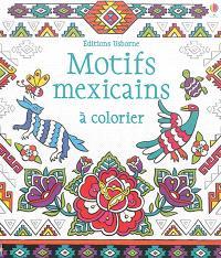 Motifs mexicains à colorier