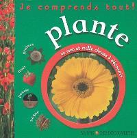 Plante : graines, fruit, pousse, bogue