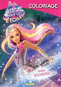 Barbie aventure dans les étoiles : coloriage
