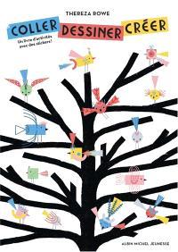 Coller, dessiner, créer : un livre d'activités avec des stickers !