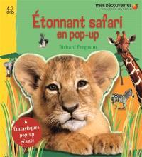 Etonnant safari en pop-up
