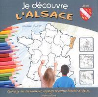 Je découvre l'Alsace : coloriage des monuments, paysages et autres beauté de l'Alsace