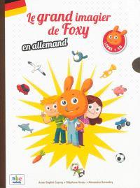 Le grand imagier de Foxy en allemand