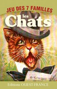 Les chats : jeu des 7 familles