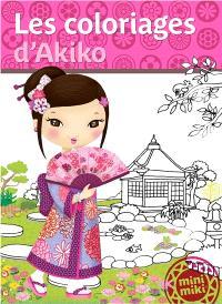 Les coloriages d'Akiko