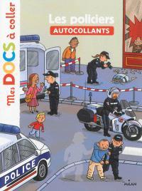 Les policiers : autocollants