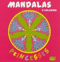 Mandalas à colorier : princesses