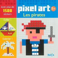 Pixel art : les pirates
