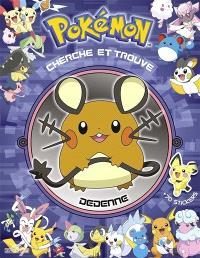 Pokémon : Cherche et trouve Dedenne