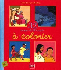 32 images de l'Evangile à colorier