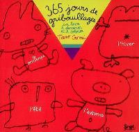 365 jours de gribouillages : un livre à dessiner et à colorier