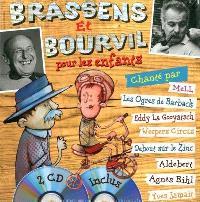 Brassens et Bourvil pour les enfants