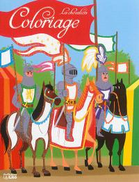 Coloriage les chevaliers : les trois chevaliers