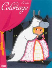 Coloriage les contes : Peau d'âne