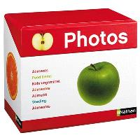 Imagier photos, les aliments