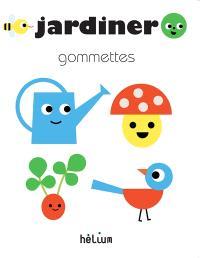 Jardiner : gommettes