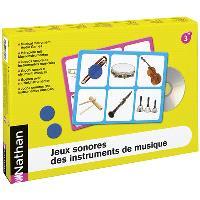 Jeux sonores des instruments de musique