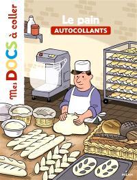 Le pain : autocollants