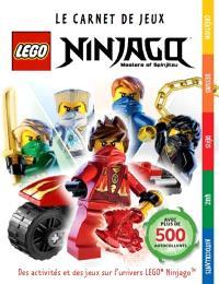 Lego Ninjago : masters of Spinjitzu : le carnet de jeux
