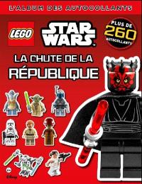 Lego Star Wars : la chute de la République : l'album des autocollants