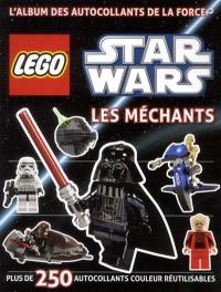 Lego Star Wars : les méchants : plus de 250 autocollants couleur réutilisables
