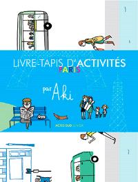 Livre-tapis d'activités : Paris