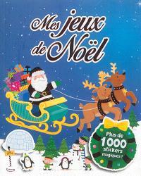 Mes jeux de Noël : plus de 1.000 stickers magiques !