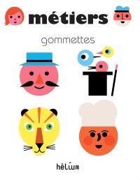 Métiers : gommettes