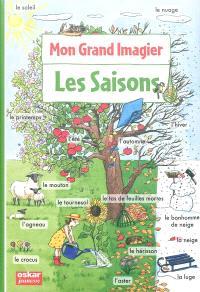 Mon grand imagier. Volume 3, Les saisons
