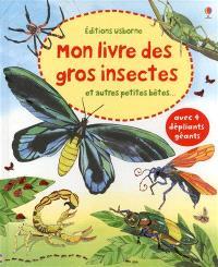 Mon livre des gros insectes : et autres petites bêtes...
