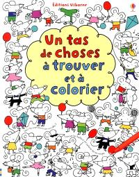 Un tas de choses à trouver et à colorier