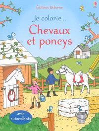 Je colorie... chevaux et poneys