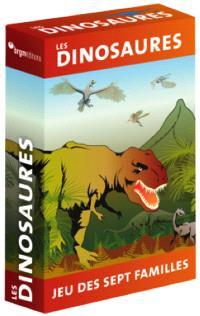Jeu de 7 familles de dinosaures