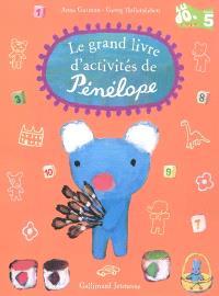 Le grand livre d'activités de Pénélope