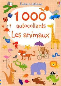 Les animaux : 1.000 autocollants