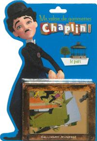 Ma valise de gommettes Chaplin and co : le parc