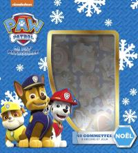 Paw Patrol, la Pat' Patrouille : Noël : 40 gommettes, 8 décors et jeux