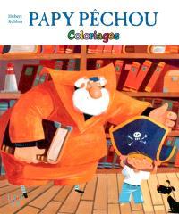 Papy Pêchou : coloriages