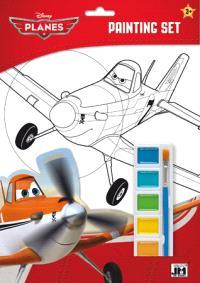 Planes : set de coloriages et peinture
