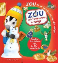 Zou et le bonhomme de neige