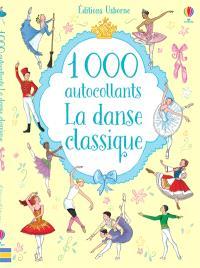 1.000 autocollants : la danse classique