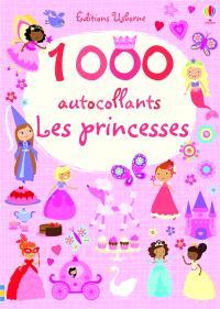 1.000 autocollants : les princesses