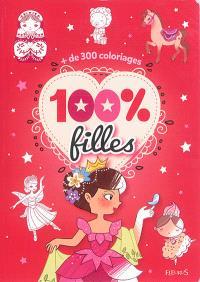 100 % filles : + de 300 coloriages